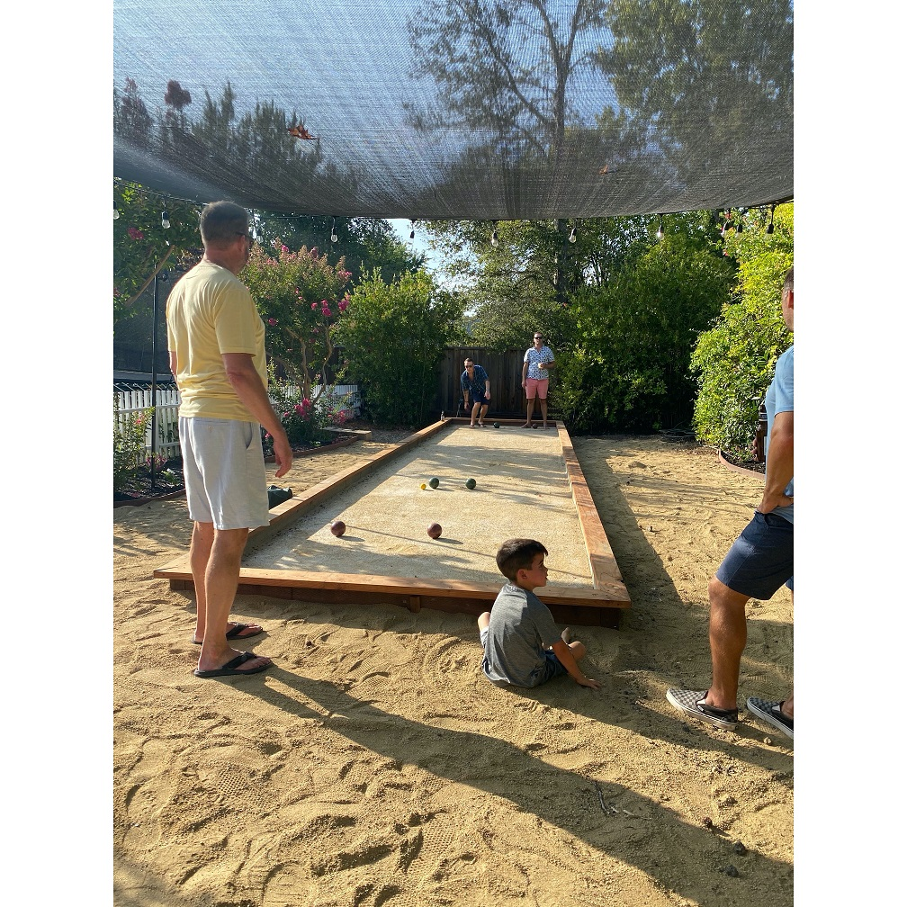 Backyards are better with Bocce!