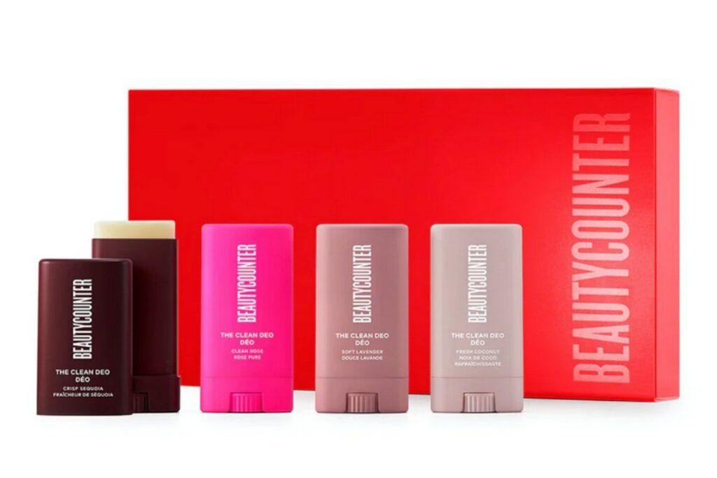 Aluminum free deodorant