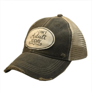 Vintage 'I can't adult today' Hat